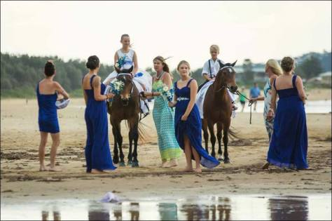 HPRA can provide horses for your special occasion. Photo © Jodie Andrews Photography.