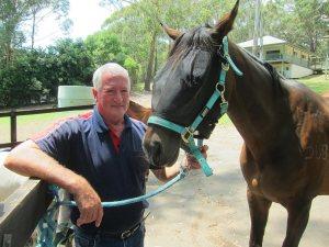 Kenneth Butler, equine chiropractor